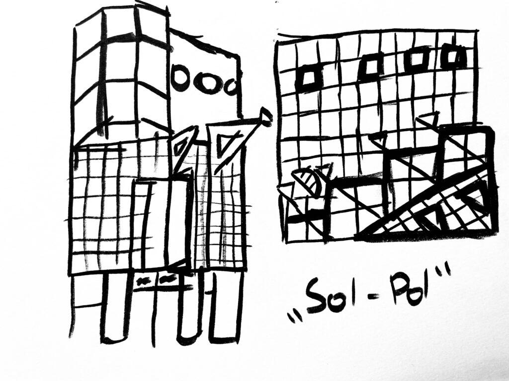 półkolonie Wrocław dzieci młodzież artystyczne plastyczne plener wakacje 2021 malarstwo rysunek szkicownik solpol grafika ilustracja rysunek Sarp