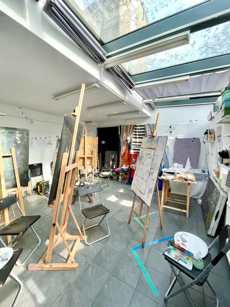 kurs kursy malarstwa zapisy rysunku nauka rysunku zajęcia plastyczne artystyczne nadodrze Wrocław